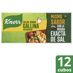 Caldo de Gallina Knorr x 114 g.