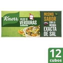 Caldo Knorr en Cubos de Verduras x 12 un.