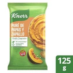 Pure de Papas y Zapallo Knorr x 125 g.