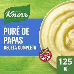 Pure de Papas Receta Completa Knorr x 125 g.