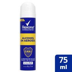Alcohol en Aerosol Boca Ed Lim Rexona x 75 cc.