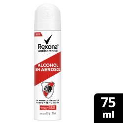 Alcohol en Aerosol River Ed Lim Rexona x 75 cc.