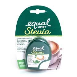 Endulzante en Tabletas Stevia Equalsweet x 100 un.
