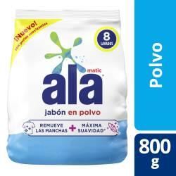 Jabón Polvo Be Matic Ala x 800 g.