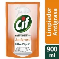 Limpiador Líquido Antigrasa Dp Cif x 900 cc.