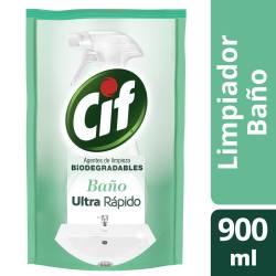 Limpiador Liquido Baño Doy Pack Cif x 900 cc.