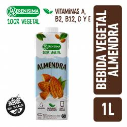 Alimento Vegetal Bebible a Base de Almendras La Serenísima x 1 Lt.