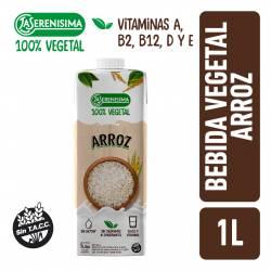 Alimento Vegetal Bebible a Base de Arroz La Serenísima x 1 Lt.