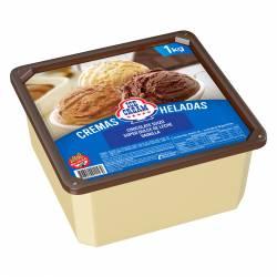 Helado Chocolate Suizo, Súper Dulce de Leche y Vainilla Ice Cream x 1 Kg.