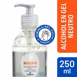 Alcohol en Gel Neutro Bialcohol x 250 cc.
