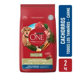 Alimento para Perro Cachorro Purina One x 2 Kg.