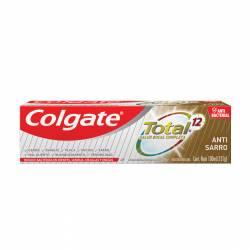 Crema Dental Total 12 Antisarro Colgate x 131 g.