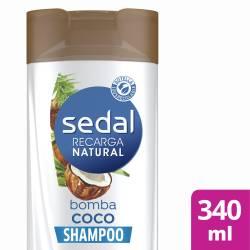 Shampoo Bomba Coco Sedal x 340 cc.