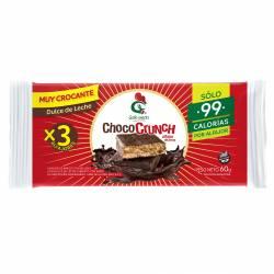 Alfajor de Arroz Relleno Dulce de Leche X3 Chococrunch x 60 g.