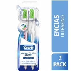 Cepillo Dental Encías Detox. Oral-B x 2 un.