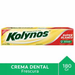 Crema Dental Súper Bcocon Calcio Kolynos x 180 g.