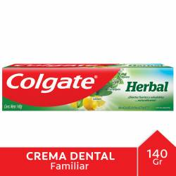 Crema Dental Herbal Colgate x 140 g.