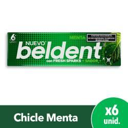 Chicles Menta Fresh Sparks Beldent x 10 g.