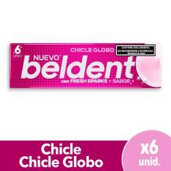 Chicles Globo Fresh Sparks Beldent x 10 g.