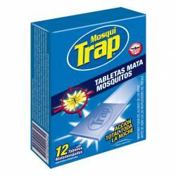 Insecticida Tabletas Mata Mosquitos Mosqui-Trap x 12 un.