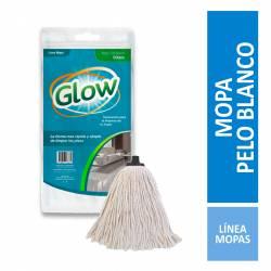 Mopa Pelos Blanco Octans Glow x 1 un.