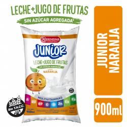 Bebida Láctea + Jugo de Fruta Naranja Junior La Serenísima x 900 cc.