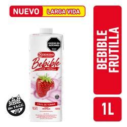 Bebida Láctea UAT s/Azúcar Agregada Frutilla La Serenísima x 1 Lt.