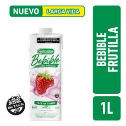 Bebida Láctea UAT 0% Grasas Frutilla La Serenísima x 1 Lt.