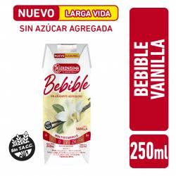 Bebida Láctea UAT s/Azúcar Agregada Vainilla La Serenísima x 250 cc.