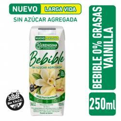Bebida Láctea UAT 0% Grasas Vainilla La Serenísima x 250 cc.