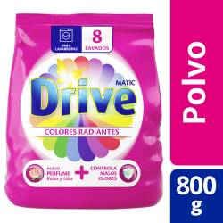 Jabón Polvo Be Colores Radiantes Drive x 800 g.