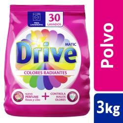 Jabón Polvo Be Colores Radiantes Drive x 3 Kg.