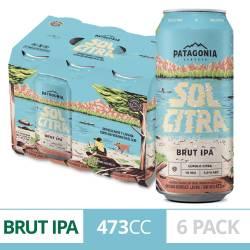 Cerveza Solcitra Patagonia Pack x 6 Latas de 473 cc