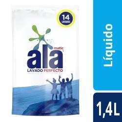 Jabón Liquido p/ Ropa Lav Perf Dp Ala x 1,4 Lt.