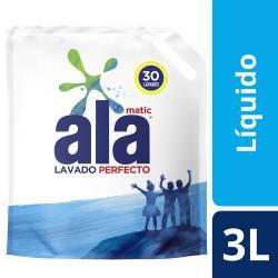 Jabón Liquido p/ Ropa Lav Perf Dp Ala x 3 Lt.