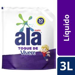 Jabón Liquido p/ Ropa c/ Vivere Dp Ala x 3 Lt.