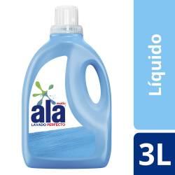 Jabón Liquido p/ Ropa Lav Perf Bot Ala x 3 Lt.