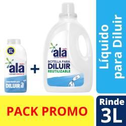 Jabón Líquido Ropa p/ Diluir Bot+Bid Oft Ala x 500 cc.