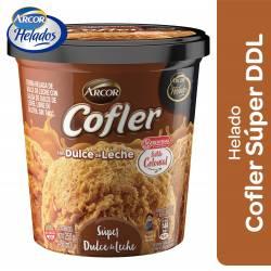 Helado Súper Dulce de Leche Cofler x 250 g.
