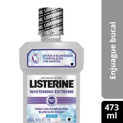Enjuague Bucal Whitening Extreme Listerine x 473 cc.