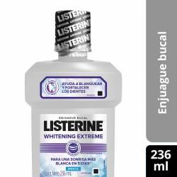 Enjuague Bucal Whitening Extreme Listerine x 236 cc.