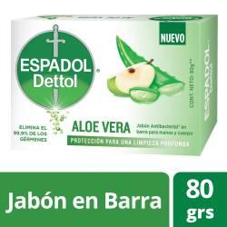 Jabón Tocador Aloe Vera Espadol x 80 g.