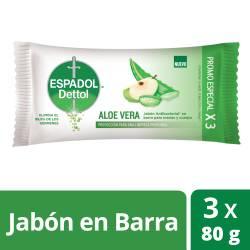 Jabón Tocador Aloe Vera Espadol x 240 g.