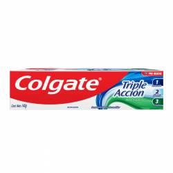 Crema Dental Triple Acción Colgate x 140 g.