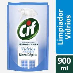 Limpiador Líquido Vidrios Biodeg Dp Cif x 900 cc.