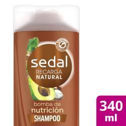 Shampoo Bomba Nutrición Sedal x 340 cc.