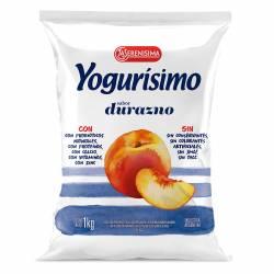 Yogur Bebible Durazno Fortificado Sachet Yogurisimo x 1 Lt.