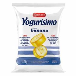 Yogur Bebible Banana Fortificado Sachet Yogurisimo x 1 Lt.