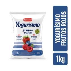 Yogur Bebible Frutos Rojos Fortificado Sachet Yogurisimo x 1 Lt.