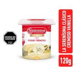 Yogur Clásico Batido Entero Vainilla La Serenísima x 120 g.